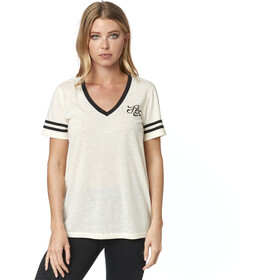 Fox Heartbreaker V-Neck SS Shirt Women bone